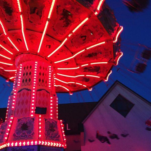 Funday Sunday ❤️ #lustenauerkilbi #kettenkarussell #sonntagsglück Lustenau