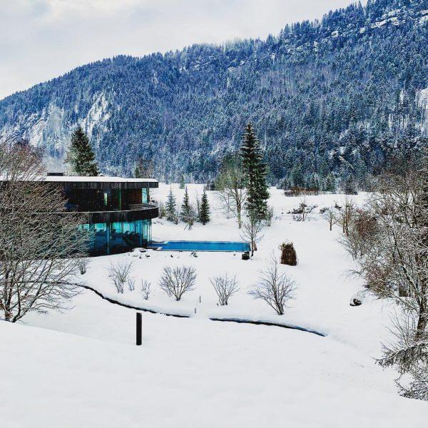 kleine Auszeit 😉 #badreuthe #wellnesshotel #ski #wellness #mountain #bregenzerwald #austria #relax #sauna #spa ...