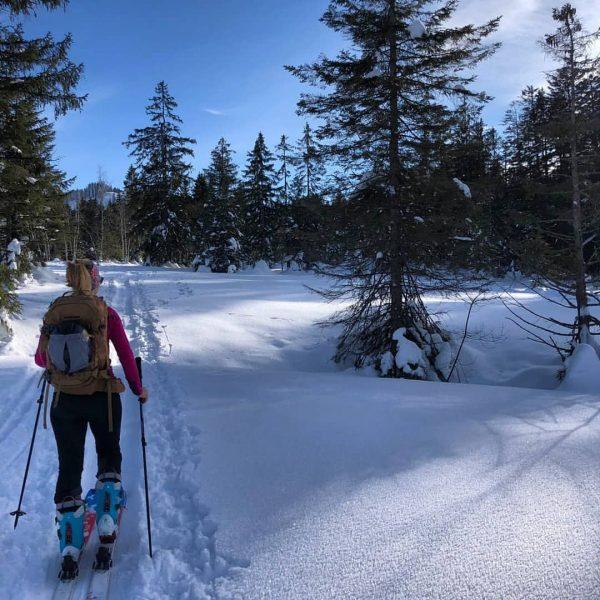 #whataday #skitouren #cooletruppe😎 #überstockundüberbaum #fohramoos #vorarlberg ❄🌞 Vorarlberg