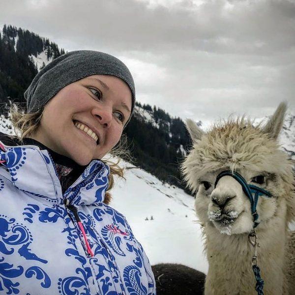 Schöne Grüße aus dem Walsertal... nach einem tollen Skitag haben wir eine Runde ...