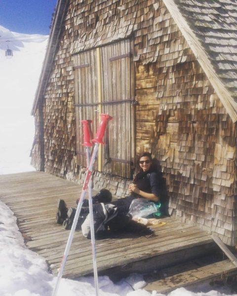Mittagspause 😊☀ Bergbahnen Diedamskopf