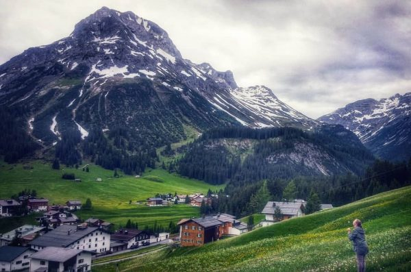 Feeling small yet content in Earth's majestic spaces. #DerGrüneRing, #LechZürs, #newperspective, #fables, #arlberg ...