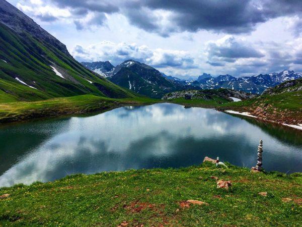 #monzabonsee #rüfikopf #rüfispitze #lech #lechamarlberg #zurs #lechzuers #dergrünering #see #mountains #mountain #alpen #vorarlberg ...