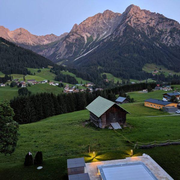 Ultima sera #hallersgeniesserhotel #mittelberg #austria🇦🇹 #austria #ultimasera Haller's Geniesserhotel
