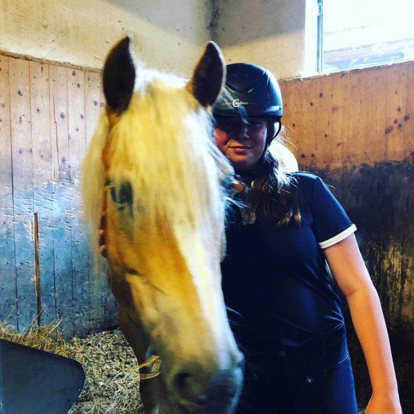 #geilgsi #haflingerpower #horse #reiten #horsebackridergirl❤️🐴😍 Sporthotel Beck