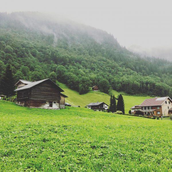 #casalpin #brand #brandnertal #österreich #austria🇦🇹 #rain #clouds Brand, Vorarlberg, Austria