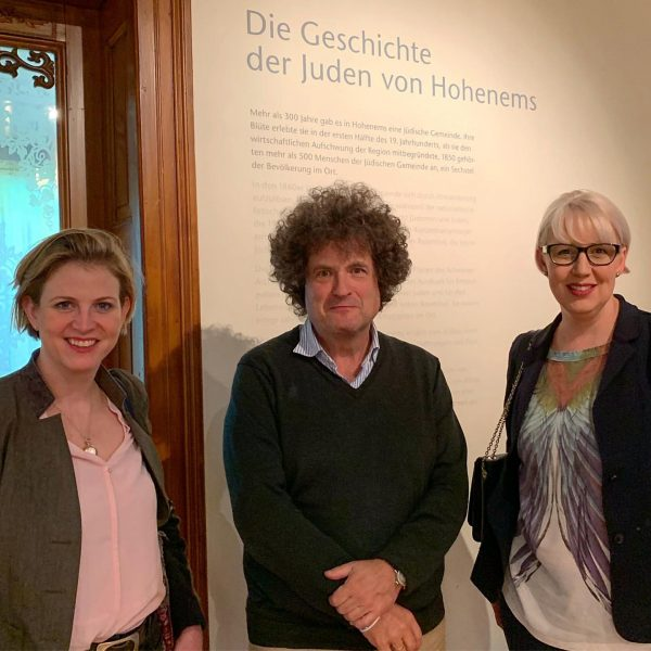 ✡️ Es war mir wichtig, heute diesen außertourlichen Stopp im Jüdischen Museum #Hohenems ...