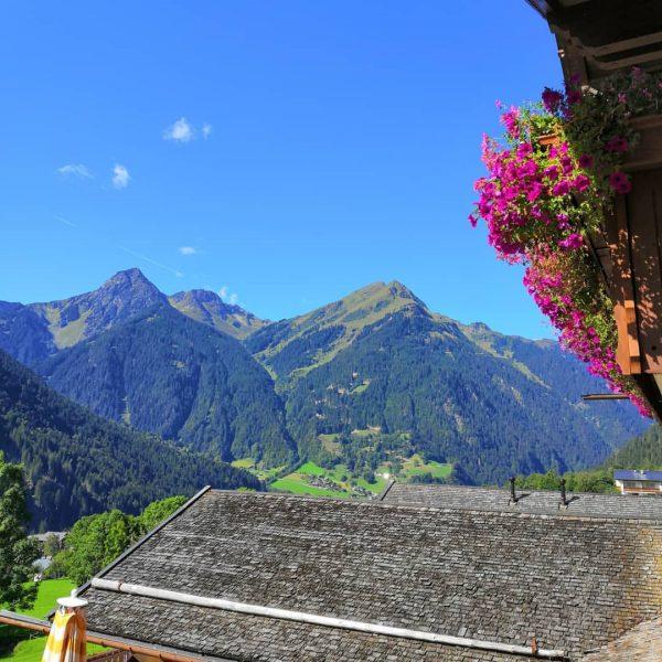 herliche Aussicht BergSPA & Hotel Zamangspitze