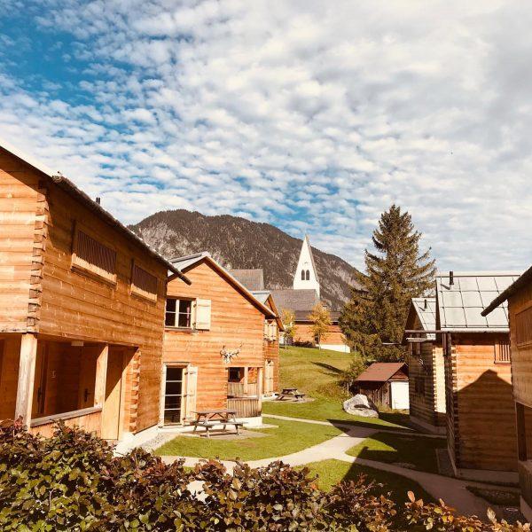 Wunderschöner Herbsttag bei #casalpin #ferienhaus #ferien #urlaub #brandnertal #bergdorf #berge #mountain #familienurlaub #brand ...