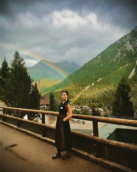 Rainbow 🌈 🥰 Der Kleinwalsertaler Rosenhof