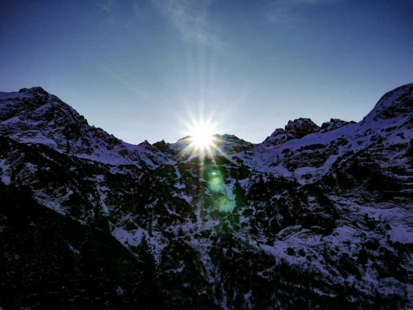 Sonnenaufgang in den Bergen... magischer Moment 😊 #natur #nature #naturliebe #naturelove #berge #mountains ...