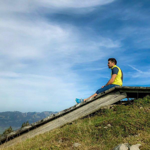 Enjoy the Moment ⛰🏃🏻♂️ #bergliebe #mountains #bergheil #berge #sport #hikingadventures #hikingadventure #wandern #bergsteigen #trailrunning #trail #running #berglauf...