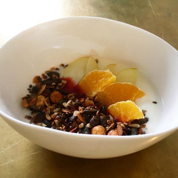 #herbstliches #granola... ein guter Start in die Woche! BAR10ZIMMER