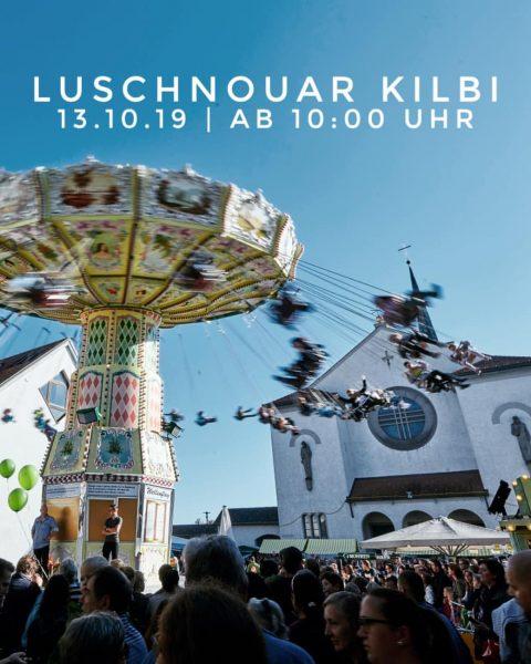 Die Luschnouar Kilbi, das größte Volksfest in Vorarlberg, lockt auch dieses Jahr Jung ...
