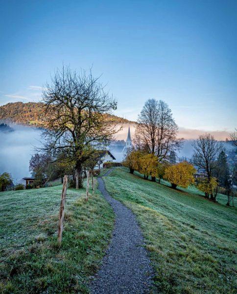 Nature full of autumn colors before winter kicks in.👌 # _________________ 📸 @miss_panorama ...