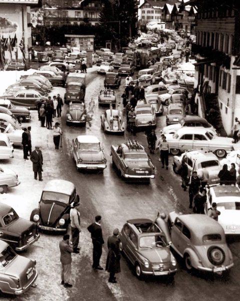 #flashbackfriday Damals waren die Walser darauf stolz. Doch Verkehr bringt nur dort Segen, ...