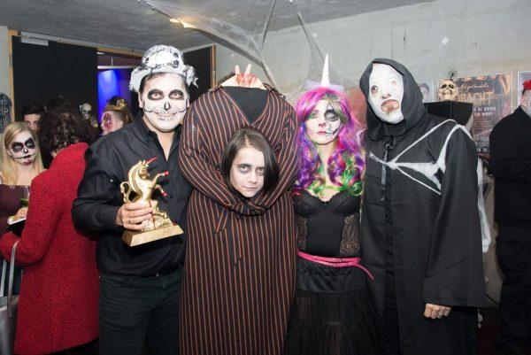 Die zweite #ALPINALE Horrorkurzfilmnacht in der Remise in #Bludenz fand zu Halloween wie ...