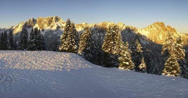 ❄️Bei solchen Bildern bekommt man Lust auf mehr!❄️ Die Schneefallgrenze sinkt immer weiter ...
