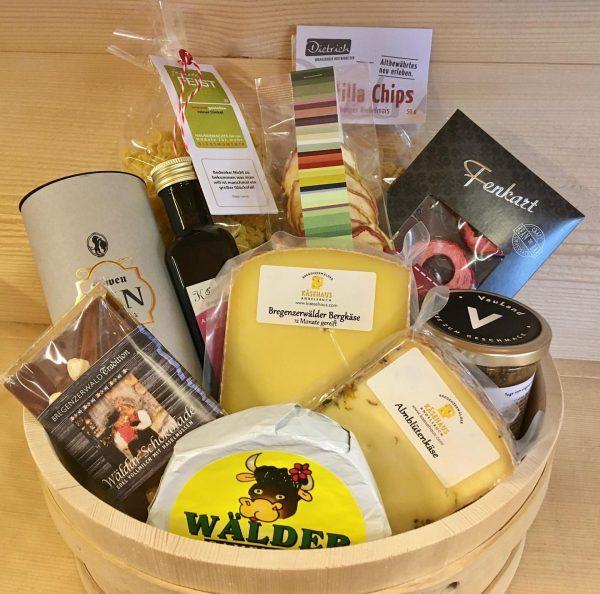 Weihnachtsgeschenke aus Vorarlberg - ein ganz besonderes Geschenk für eure Liebsten - Genusspakete ...