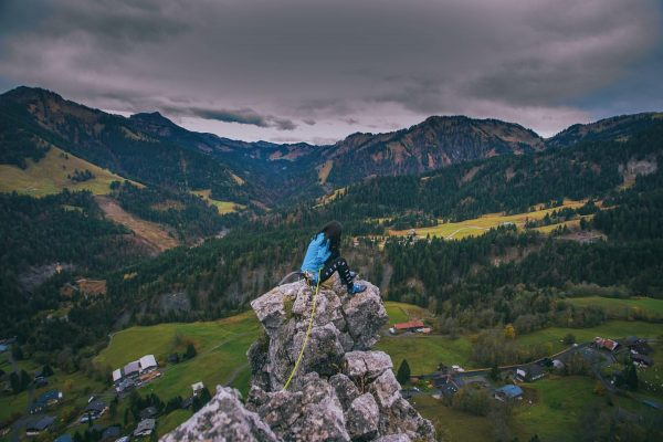 maria magdalena #coldasfuck #sundayclimbday #climbing #multipitching #vorarlberg #klettern #mountainlove #slippery #dornbirn #ebnit #großeklara ...
