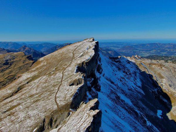 🌗 #hoherifen #drone #oberstdorf #allgäu #wandern #mountains Hoher Ifen