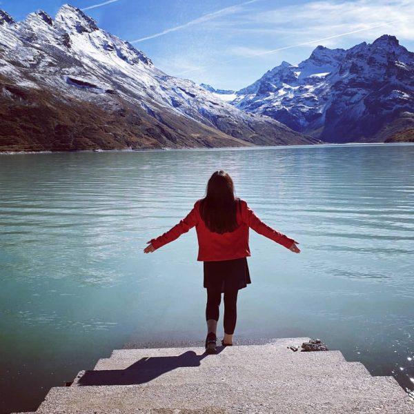 Da ist aber ganz schön wenig Wasser drin🏞️🗻 Im Silvretta Stausee . #austria ...