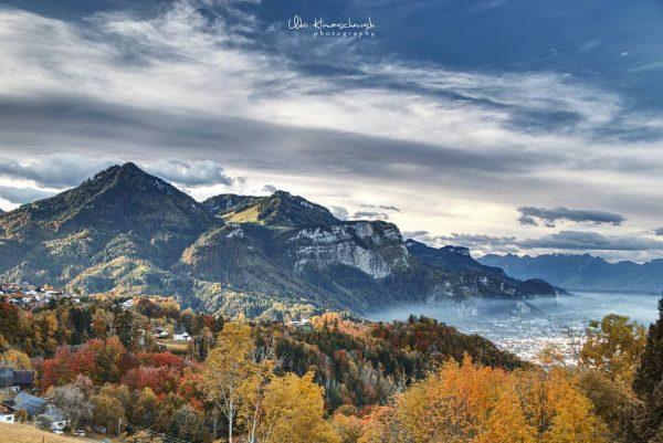 Einfach wunderschön dieses Farbenspiel im Herbst! 📷 @lindaubilder #6850dornbirn #dornbirn #visitvorarlberg #visitaustria #vorarlberg ...