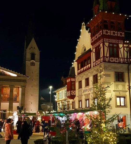Auch in Dornbirn ist die Saison eröffnet 😍 #weihnachtsmarkt #dornbirn #austria #besttimeoftheyear #vorarlberg ...