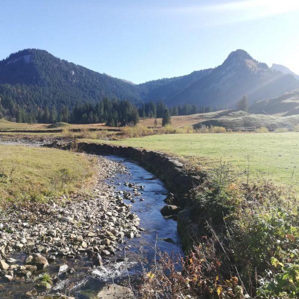 Wunderschön gelegen, die Vorsäßsiedlung Schönenbach, heute stellen wir euch einen tollen Rundweg vor!! ...