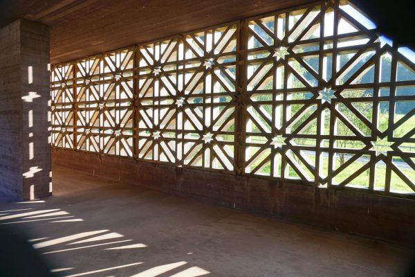 Islamisk begravelsesplads tegnet af Bernardo Bader Architekten ⭐️ et af besøgsstederne på studieturen ...