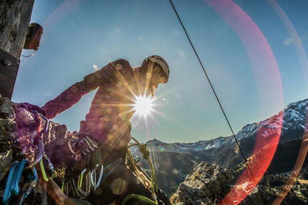 morning glory #climbing #preworkclimbing #dornbirn #ebnit #vorarlberg #meinvorarlberg #klettern #großeklara #mountainlove #climbersoninstagram #winteriscoming ...