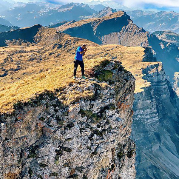 Tolle Tageswanderung am Hohen Ifen in Österreich bei strahlenden Sonnenschein. Shoot some nice ...