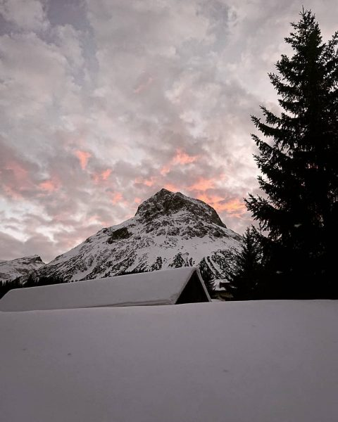 When you are not inside the yurt...this is what you see... #theturtlech #hotelarlberglech ...