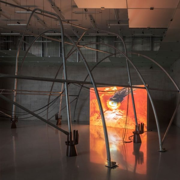Raphaela Vogel lit a fire at Kunsthaus Bregenz. Check it out – the ...
