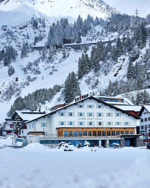 Das Après Post Hotel reicht drei Generationen bis in die 1920er-Jahre zurück. 🏠 ...