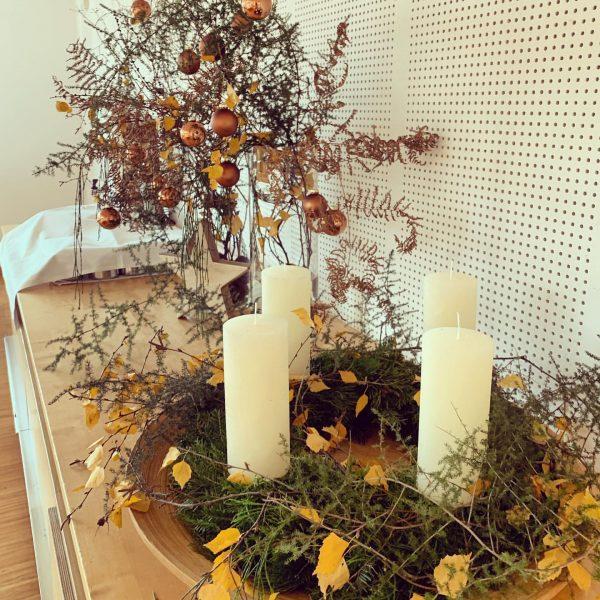 Ganz langsam wird's auch bei uns in Arbogast adventlich. 🌟 Danke liebe Silvia ...