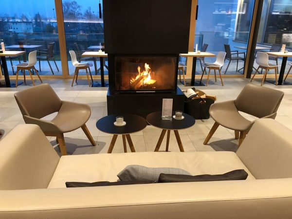 Relax 😊 #sauna #bistro #lounge #kamin #gemütlich #cosy #fire #spa #wellness #relax #valblu