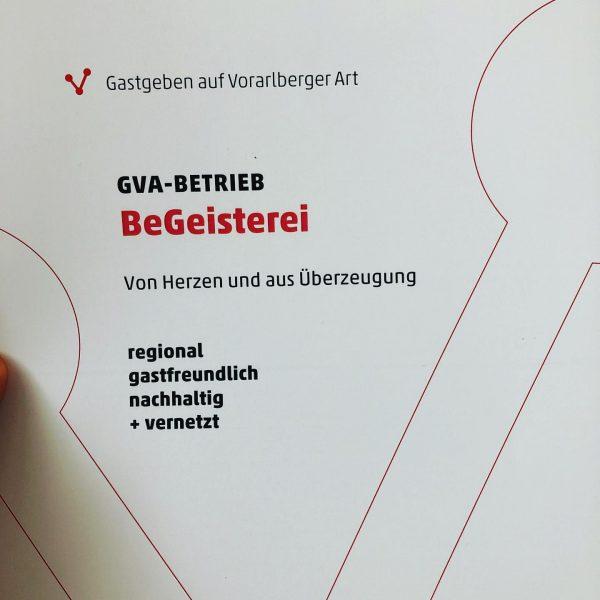 #gva #regional #gastfreundlich #nachhaltig #vernetzt #vorarlbergtourismus #dankbar #spannend #gastgebenaufvorarlbergerart @karinguldenschuh & Matthias Amann ...