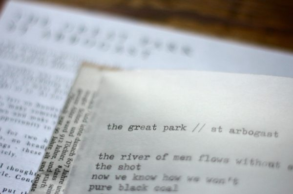 The Great Park's 'St Arbogast' midnight empty church recording is available everywhere now. ...