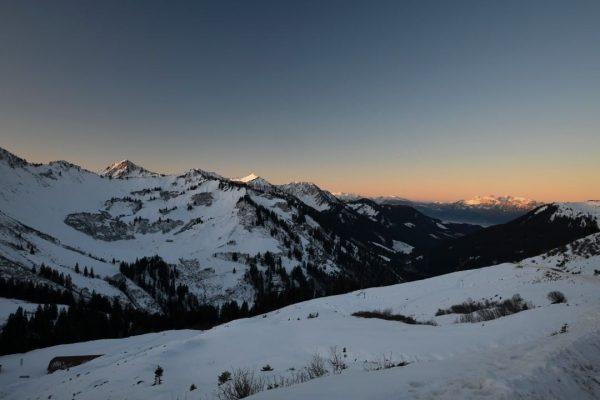 #furkajoch #schnee #landschaft #sonnenaufgang #berge #vorarlberg