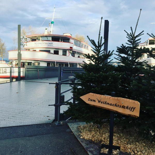 Ab heute fährt das Weihnachtsschiff jeden Do bis So mehrmals am Tag nach ...