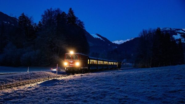 #bregenzerwaldbahn #wälderbähnle #museumsbahn #nikolauszüge #2019 #nikolaus #krampus #nikolaussackerl #schlachterphotography Wälderbähnle