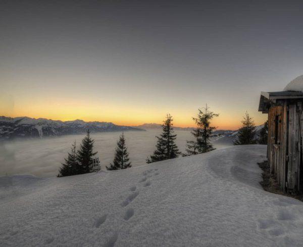 #frassenhütte #lovemountains #myvorarlberg #hiking #winterwonderland #winter #wanderlust #snow Frassenhütte