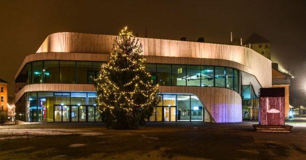 FROHE WEIHNACHTEN #weihnachten #feldkirch #montforthaus #vorarlberg