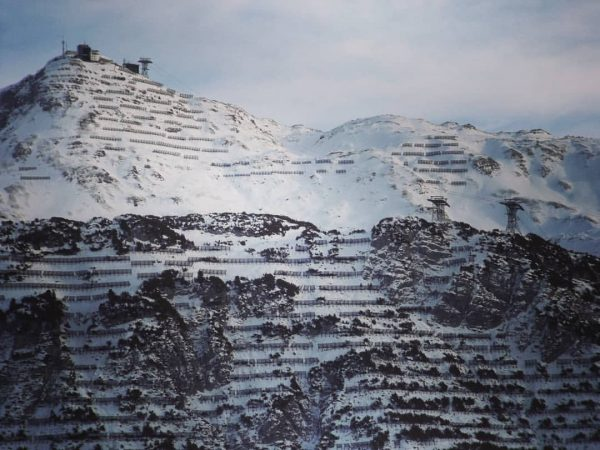 Rüfikopf, 2362 meters, Lech, Austria #mountains #view #panorama #snow #winter #powder #ski #skiing ...