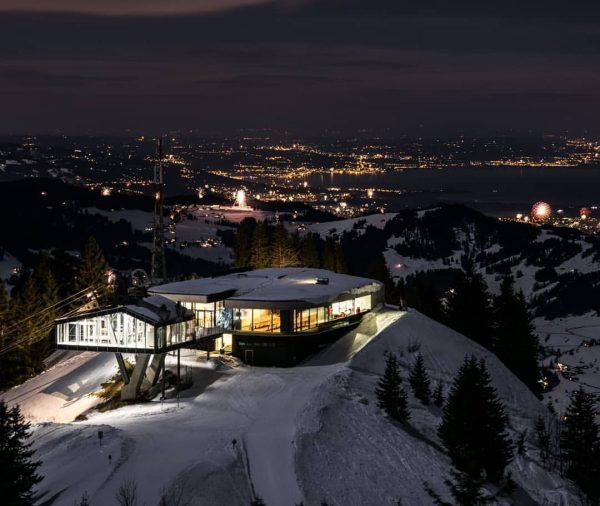 Silvester im Panoramarestaurant : Den Jahreswechsel feiern auf 1.650 m mit Dreiländerblick - ...