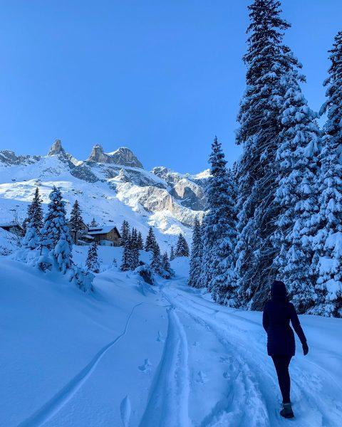 Winter Wonderland #austria #montafon #lindauerhütte #dreitürme #schnee #rodln #natureatitsbest #familytime Tschagguns