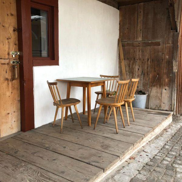 Typical traditional scenery of Schwarzenberg #bregenzerwald... #craft #wood #silverfir #weisstanne #chair #furniture #landleben ...