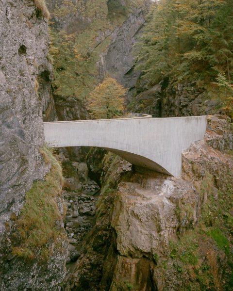 Schaufelschlucht Bridge by @marte.martearchitects Vorarlberg