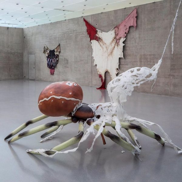 "Raphaela Vogel's exhibition ""Bellend bin ich aufgewacht"" is on view at Kunsthaus Bregenz ..."